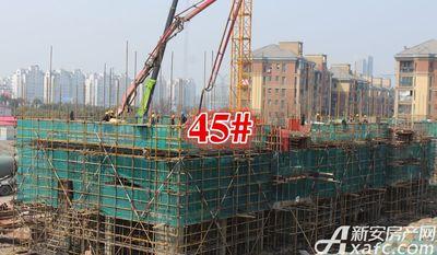 淮北凤凰城45#建到3层20180326