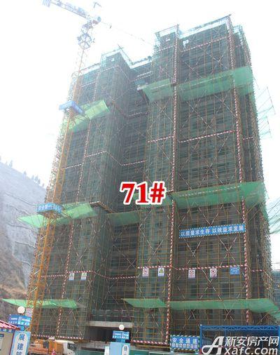 淮北凤凰城71#建到25层20180326