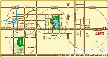 兴茂悠然蓝溪交通图
