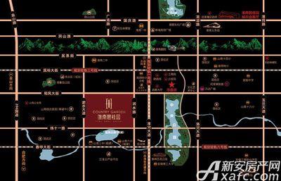 淮南碧桂园区位图