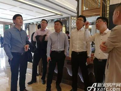 淮北碧桂园集团领导视察20180328