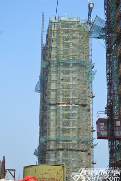 利华世纪新城三期工程进度(2018年3月25日)