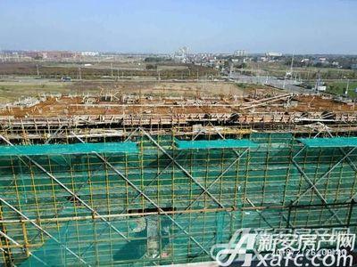 祥生梧桐新语2018年2月 施工现场