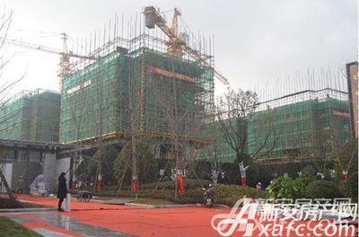 中梁宣督府施工中2018年一月份