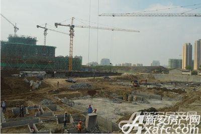 贝林阳江港湾施工中2017年8月份