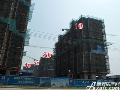 宜秀蓝湾1#、2#、3#、4#工程进度(2018.3.27)