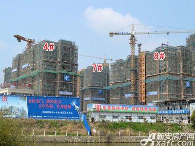 宜秀蓝湾4#、7#、8#工程进度(2018.3.27)