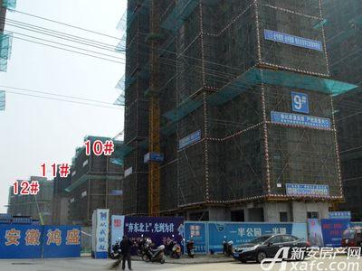 宜秀蓝湾10#、11#、12#工程进度(2018.3.27)