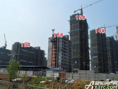 宜秀蓝湾12#、14#、15#、16#工程进度(2018.3.27)