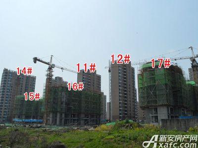 大地凤凰城11#、12#、14#、15#、16#、17#工程进度(2018.3.27)