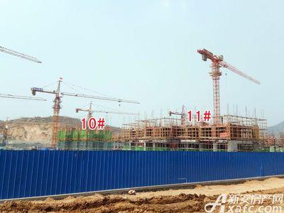 北城秀里10#、11#工程进度(2018.3.27)