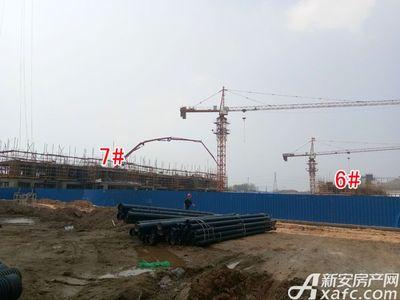 北城秀里6#、7#工程进度(2018.3.27)