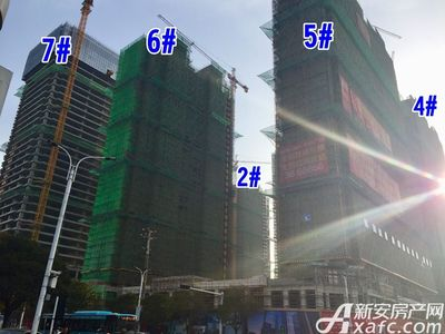 宿州CBD万达广场宿州CBD·中心广场3月项目进度(3月29日)