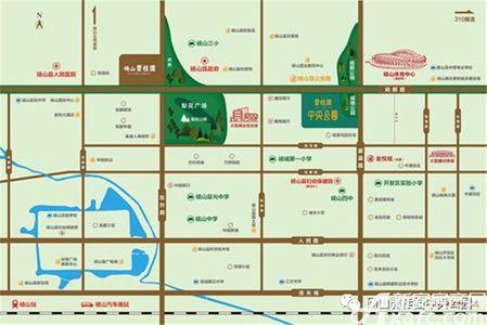 碧桂园·中央公园交通图
