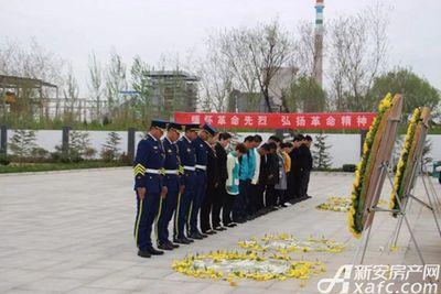 淮北碧桂园清明节扫墓活动图20180404