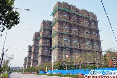 万成·哈佛玫瑰园二期高层进度(2018.3)