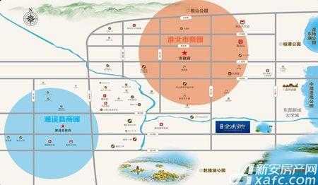 顺达金水湾交通图