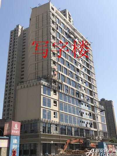 铜化弘宇嘉城写字楼4月进度(2018.4.16)