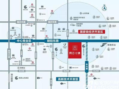 万创▪网云小镇交通图