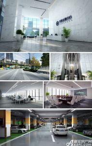 华地金融中心实景图