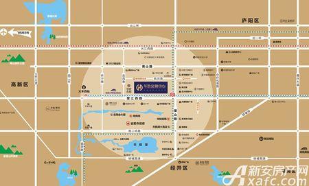 华地金融中心交通图