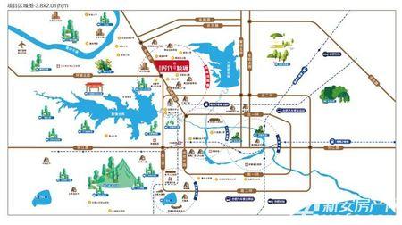 碧桂园·时代倾城交通图