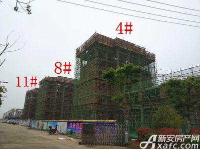 栖凤名城地块二4#、8#、11#项目进度(2018.4.23)