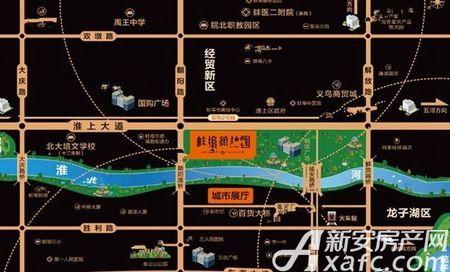 蚌埠碧桂园交通图