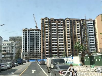 华强城颐景湾畔工程进度
