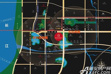 碧桂园镜湖世家交通图