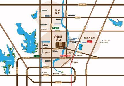 宝湾国际城交通图