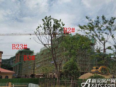 地矿龙山湖苑B2#、B3#、B23#项目进度(2018·5·15)