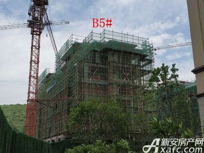 地矿龙山湖苑B5#项目进度(2018·5·15)