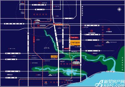 高速时代首府交通图