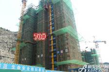 淮北凤凰城70#建到19层20180517