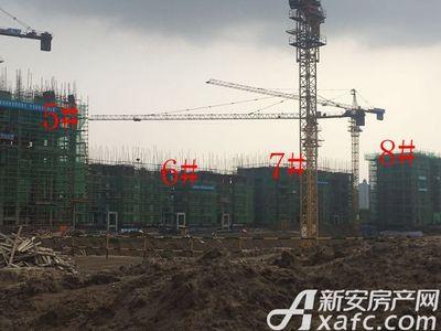 淮矿·东方蓝海东方蓝海•舜耕华府项目进度(2018.5.17)