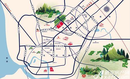 新华御园交通图