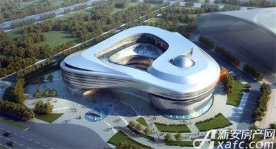汴河小镇宿州市妇女儿童中心、科技馆、档案馆