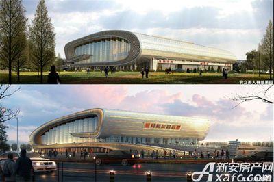 汴河小镇宿州市体育馆