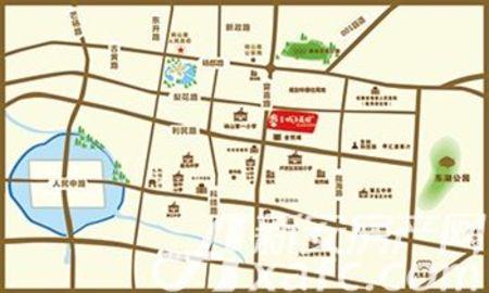 奥林·城市花园交通图