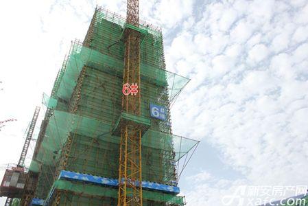 淮北恒大中央公园工程进度