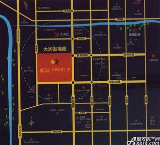 临泉皖新文化广场交通图