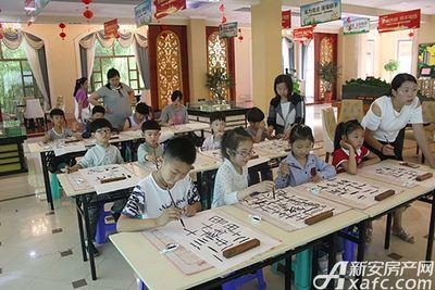淮北凤凰城书法培训班20180526