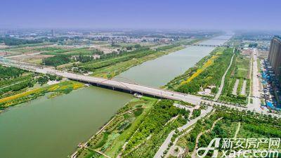 汴河小镇汴河大桥实拍