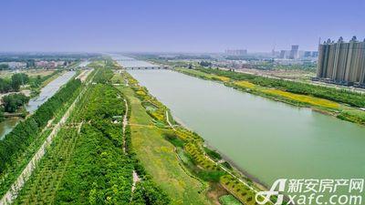 汴河小镇新汴河景观带