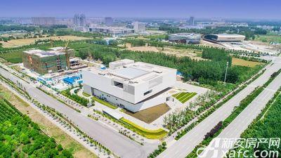 汴河小镇高新区实景航拍