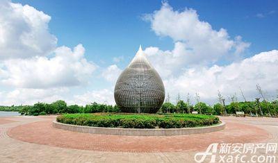汴河小镇三角洲标志建筑