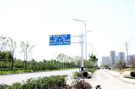 华地紫悦府交通图