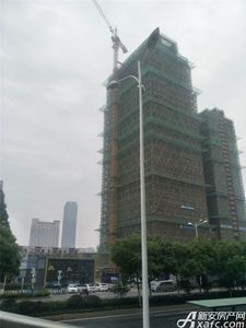 合肥华冶金石广场工程进度