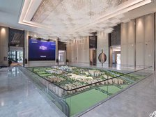 绿地·宿州城际空间站城市会客厅实景图